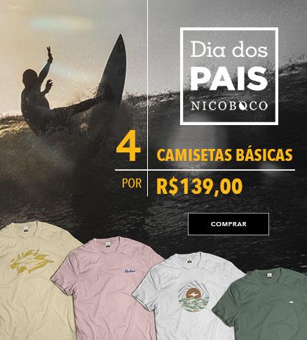 4 camisetas 139